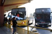 Terminal: llegaron dos colectivos de provincias con coronavirus y fueron devueltos