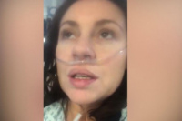 """El crudo relato de una paciente con coronavirus: """"Es como tener vidrio en los pulmones"""""""