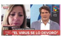 """""""Se lo devoró"""": el dramático testimonio de la mujer que perdió a su hijo por coronavirus en España"""