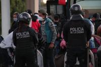 Detuvieron en Buenos Aires a un micro con 62 extranjeros