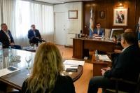 Baistrocchi revisó con su gabinete el Plan de Contingencia por coronavirus