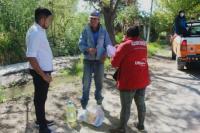 Ullum: entregaron casi 300 módulos alimentarios