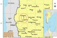 Se movió el piso: un sismo de 4.6° sacudió la mañana sanjuanina