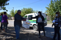 Rivadavia entregó semillas del programa