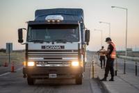 Transportistas sanjuaninos serán aislados por 48 horas cuando lleguen a la provincia