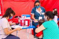 Capital: realizarán un operativo especial de vacunación en Desamparados