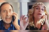 """Flor Peña y Guillermo Francella actuaron un nuevo sketch de """"Casados con hijos"""""""