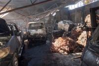 Incendio en la recuperadora: perdidas totales y más de 40 familias se quedaron sin trabajo