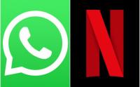 Ahora Netflix se podrá ver por WhatsApp