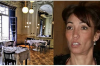 Ernestina Pais modificó su restaurante en una casa de delivery