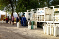 El lunes llega el camión de venta de la garrafa social a San Juan
