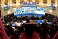 Día histórico en el Congreso: el Senado tendrá su primera sesión virtual