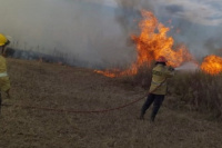 Bomberos mendocinos fueron a ayuda con los incendios y fueron aislados por un caso positivo d Civid-19