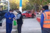 Angaco: Operativo de Garrafas en Distrito Las Tapias