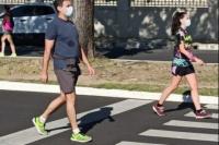 Desde el martes, permitirán las caminatas saludables en San Juan