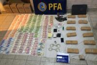 Otro golpe al narcotráfico en San Juan: incautaron gran cantidad de cocaína y marihuana