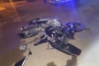 Un motociclista en grave estado tras un choque en Caucete: le tuvieron que amputar una pierna