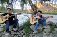 Dúo Sierra Maestra, los pequeños artistas que conquistan escenarios con su música