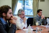 Alberto Fernández definió los detalles con los gobernadores de las provincias más afectadas