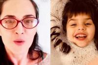 """Julieta Díaz habló por primera vez de la salud de su hija Elena: """"Tiene parálisis cerebral"""""""