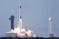 Desde Estados Unidos lanzaron al espacio la nave Crew Dragon