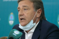 """Suárez: """"La situación es compleja, las camas de terapia intensiva están llegando a su límite"""""""
