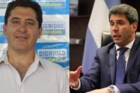Gustavo Fernández felicitó a Uñac por convocar a la mesa de diálogo