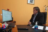 Angaco: Carlos Maza participó de un encuentro para pensar estrategias y alternativas post-pandemia