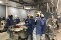 El Hospital Rawson fue escenario de cuatro intervenciones endovasculares