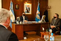 Baistrocchi pidió a su gabinete más austeridad y pensar en futuro