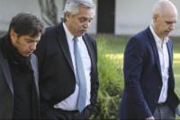 Fernández, Larreta y Kicillof postergan una definición sobre la extensión de la cuarentena