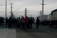 Camioneros sanjuaninos se manifestaron por malos tratos en las rutas