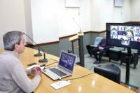 Roberto Gattoni mantuvo una reunión virtual con vicegobernadores