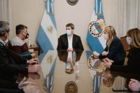 Transportistas en San Juan: Uñac recibió al secretario local de Stotac