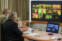 Fernández llamó a la unidad del Mercosur para enfrentar la desigualdad en la pospandemia