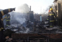 Rawson: una abuela de 74 años perdió todo tras el incendio de su vivienda