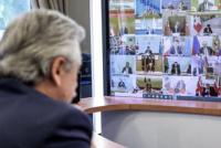 Alberto Fernández encabezará una videoconferencia con los gobernadores