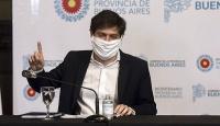 Axel Kicillof destacó las medidas establecidas en el país ante la pandemia