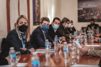 Acuerdo San Juan: Uñac y su Gabinete realizaron un balance de la primera etapa