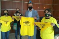 El Intendente Fabián Martín se reunió con integrantes de Endometriosis San Juan