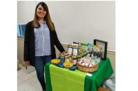Natalia y su meta de llegar a los hogares sanjuaninos con sus productos saludables
