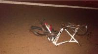 Angaco: atropello y mató a un ciclista, se fugó