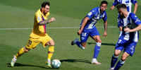 Lionel Messi, el que hace historia hasta con un Barcelona irregular