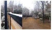 San Juan se vistió de blanco con las nevadas en distintas zonas