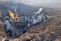 Murió un piloto de la Fuerza Aérea tras estrellarse en Córdoba