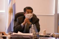 """Felipe de los Ríos: """"Si el estatus sanitario se mantiene, iremos sumando departamentos"""""""