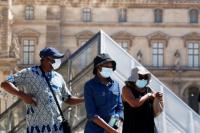 El uso de mascarillas será obligatorio en las zonas más frecuentadas de París a partir del lunes