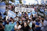 17A: Marcha y banderazo contra el Gobierno en distintas ciudades del país