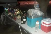 Desactivaron una fiesta clandestina con más de 30 personas en el Médano de Oro
