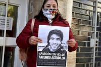 Madre de Facundo Astudillo Castro:
